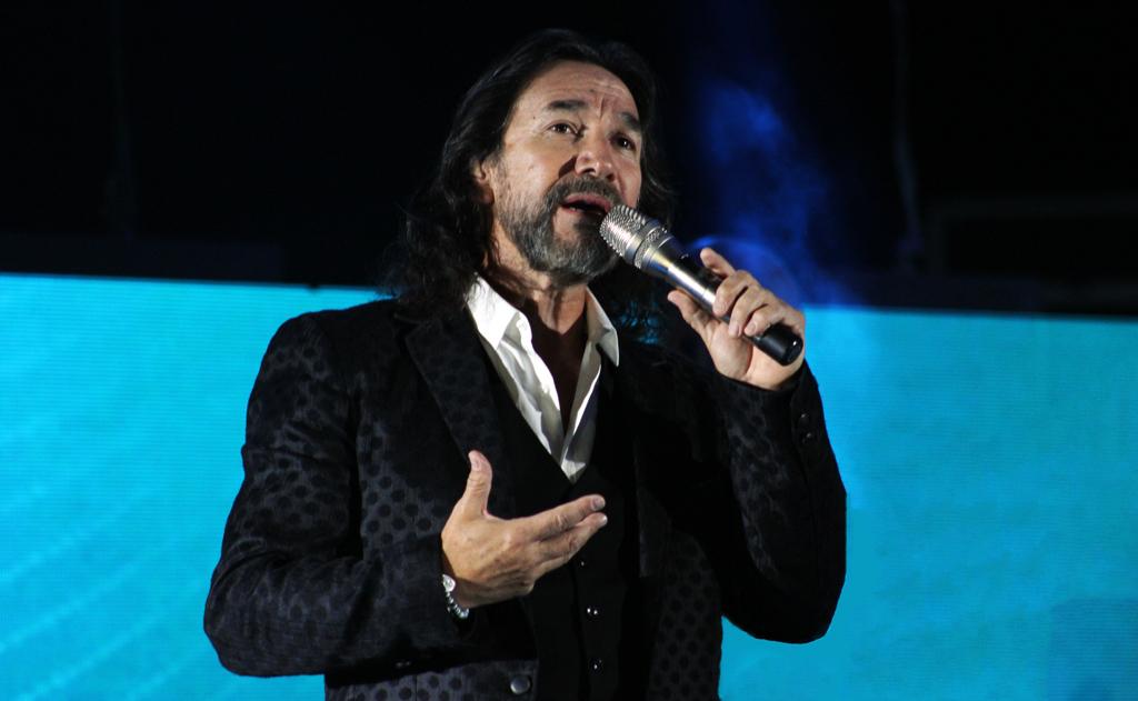 Marco Antonio Solís en Oaxaca.